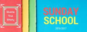 2016-17 Sunday School Logo
